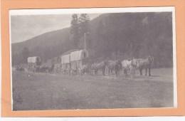 Freight Wagon, CLINTON BC Postcard, CARIBOO BRITISH COLUMBIA, CANADA Post Card, Carte Postale - British Columbia