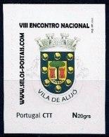 LSJP Portugal  Personalised Stamps Coat Of Arms Brasão Vila De Alijo And São Bartolomeu 2010 - Portugal