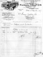 MARCEL HAUTON - SAINT NAZAIRE SUR LOIRE - L ORIENTAL AUTO - CHAPLAIS PONTCHATEAU - France