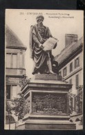 N1428 STRASBOURG -  Statua Monumento Di  Gutember, INVENTORE STAMPA A CARATTERI MOBILI - MONUMENT, STATUE - Ed. Bergeret - Monuments