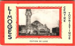 Carnet De 10 CPA De Limoges 87 (Hte-Vienne) - Complet Et TBE - 2 Scans (Grand Hôtel Central, Lycée Gay-Lussac,...) - Limoges