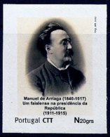 LSJP Portugal  Personalised Stamps President Manuel De Arriaga 2010 - Portugal