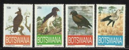 BOTSWANA  1993   BIRDS   OF  PREY  SET  MNH - Aquile & Rapaci Diurni
