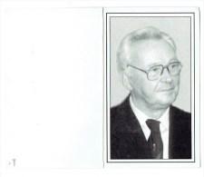 Bidprentje - Theofiel LAUREYS Oud-Strijder 1940-1945 - Heist-op-den-Berg 1915 - Hallaar 1998 - Santini