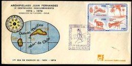 CHILE - JUAN FERNANDEZ ISLAND FDC 1974 VF - Chili