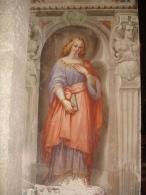 S.ta Da Identificare - Affresco Basilica S.Simpliciano MILANO - Fotografia - Religione & Esoterismo