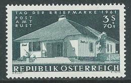 1961 AUSTRIA GIORNATA DEL FRANCOBOLLO MNH ** - AC - 1945-.... 2ª República