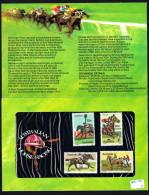 1978  Australian Horse Racing  Set Of 4  In Presentation Pack - Presentation Packs
