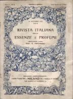 Rivista Italiana Delle Essenze E Profumi - Ann V - N°12 - 15 Décembre 1923 - Parfum - Huiles Essentielles - TRES RARE - Health & Beauty