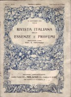 Rivista Italiana Delle Essenze E Profumi - Ann V - N°12 - 15 Décembre 1923 - Parfum - Huiles Essentielles - TRES RARE - Gezondheid En Schoonheid