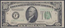 F-EX1104. US 10$ 1934C LETRA F. - Washington