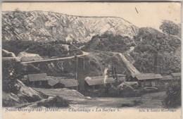 """Saint-Georges-sur-Meuse - Charbonnage """"La Surface"""" - 1907 - Edit. E. Lemye-Havelange petit pli c�t� sup�rieur droit"""