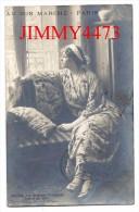 CPA - AU BON MARCHE - Société Des Artistes Français Salon De 1914 - Clovis DIDIER - L'Attente En 1922- Scans Recto-Verso - Théâtre