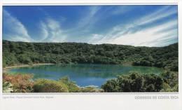 Lote PEP858, Costa Rica, Entero Postal, Postal Stationary, Laguna Botos, Lake - Costa Rica