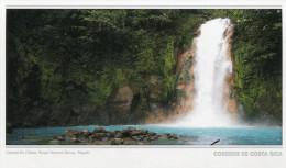 Lote PEP859, Costa Rica, Entero Postal, Postal Stationary, Catarata Rio Celeste, Waterfall - Costa Rica