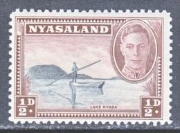 NYASALAND  68     ** - Nyasaland (1907-1953)