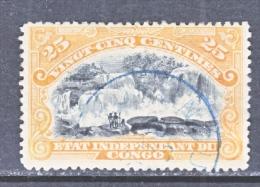 BELGIUM  CONGO  20     (o) - 1884-1894 Precursors & Leopold II