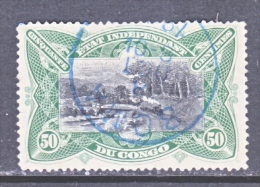 BELGIUM  CONGO  22     (o) - 1884-1894 Precursors & Leopold II