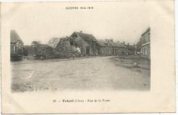 Guerre 1914-1918 - TRICOT (Oise) - Rue De La Poste - Frankrijk