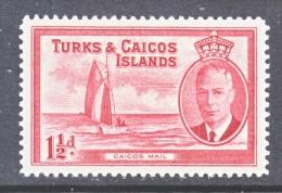 TURKS  And  CAICOS  ISLANDS  107    * - Turks- En Caicoseilanden