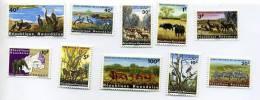 Rwanda-1965-Oiseaux-félin S-éléphants  Etc...98/107***MNH-Valeur     22 Euro- - Stamps