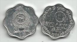 Sri Lanka 10 Cents 1988. UNC/AUNC - Sri Lanka
