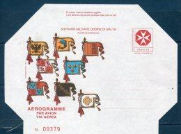 """(G) -- Smom 1995 -- """"Aereogramma"""" Nuovo - Malte (Ordre De)"""