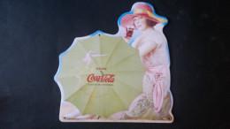 CARTEL CHAPA METALICA DECORATIVA PUBLICIDAD COCA COLA COKE DRINK COCA-COLA AÑOS 20 - TENGO MAS CHAPAS - Plaques émaillées & En Tôle