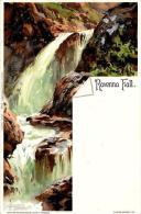 [DC4781] CARTOLINA - RAVENNA FALL - PERFETTA - FIRMATA BIESE - Viaggiata - Old Postcard - Non Classificati
