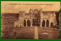 CP 60 CHIRY OURSCAMP Vue Générale Des Ruines De L'Abbaye Cistercienne - Sin Clasificación