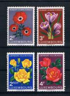 Luxemburg 1956 Blumen Mi.Nr. 547-50 * - Ungebraucht