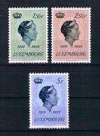 Luxemburg 1959 Herzogin Mi.Nr. 601/03 Kpl. Satz ** - Ungebraucht
