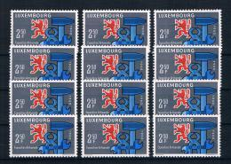 Luxemburg 1960 Handwerk 12 Mal Mi.Nr. 622 ** - Ungebraucht