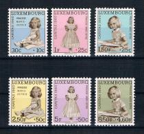 Luxemburg 1960 Caritas Mi.Nr. 631/36 Kpl. Satz ** - Ungebraucht