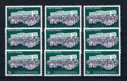 Luxemburg 1964 Athenaeum 9 Mal Mi.Nr. 699 ** - Ongebruikt