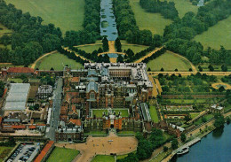 MIDDLESEX   HAMPTON COURT PALACE     AIR VIEW  FROM  NORTH-WEST   (NUOVA) - Middlesex