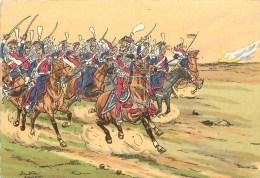 LE GENERAL PONIATOWSKI La MOSKOVA - 1812 - CPSM ILLUSTRATEUR; PIERRE-ALBERT LEROUX- Belle édition Des Années 40- état TB - Hommes Politiques & Militaires