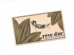7951 - Calendrier Parfum  1937 : REVE D'OR , L.T. PIVERT, PARIS - Small : 1921-40