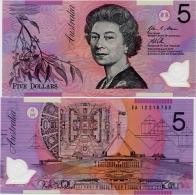 AUSTRALIA       5 Dollars       P-57g       (20)12       UNC - Decimal Government Issues 1966-...