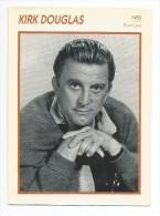 Fiche Cinéma  KIRK DOUGLAS 1955 - Photos