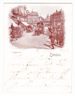 AK GB (11.3 X 8.7cm) London Ludgate Hill Ges. 8.3.1899 - Non Classés