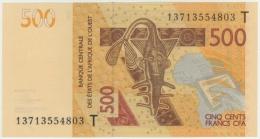 Togo (WAS) T 500 Fr. 2013 Pick NL  UNC - Togo