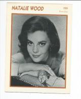 Fiche Cinéma  NATHALIE WOOD 1955 - Photos