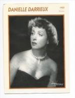 Fiche Cinéma  DANIELLE DARRIEUX 1955 - Photos
