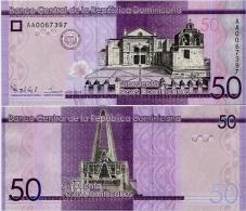 DOMINICAN REP.       50 Pesos Dominicanos      P-New       2014      UNC - Dominicaanse Republiek