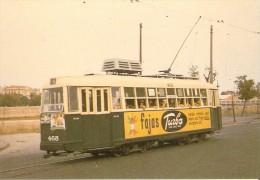 Nº 317 POSTAL DE ESPAÑA DE UN TRANVIA DE VALENCIA DEL AÑO 1970 (TREN-TRAIN-ZUG) AMICS DEL FERROCARRIL - Tranvía