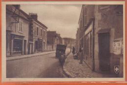 Carte Postale 45. Meung-sur-Loire  La Rue Des Cordeliers   Trés  Beau Plan - Autres Communes