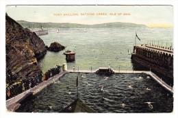 AK Insel Man - Port Skillion Ges. 3.8.1908 Ramsey Foto Star Series - Ile De Man