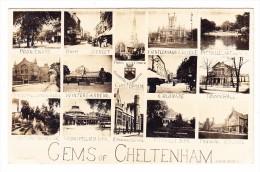 AK GB Gems Of Cheltenham 14 Fotos AK Ges 14.2.1912 Nach ZH - Cheltenham