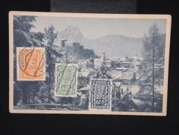 AUTRICHE - Cp De Kufstein Pour Lyon En 1927 - Aff. Plaisant ( Tricolore ) - à Voir  - Lot P9065 - 1918-1945 1. Republik